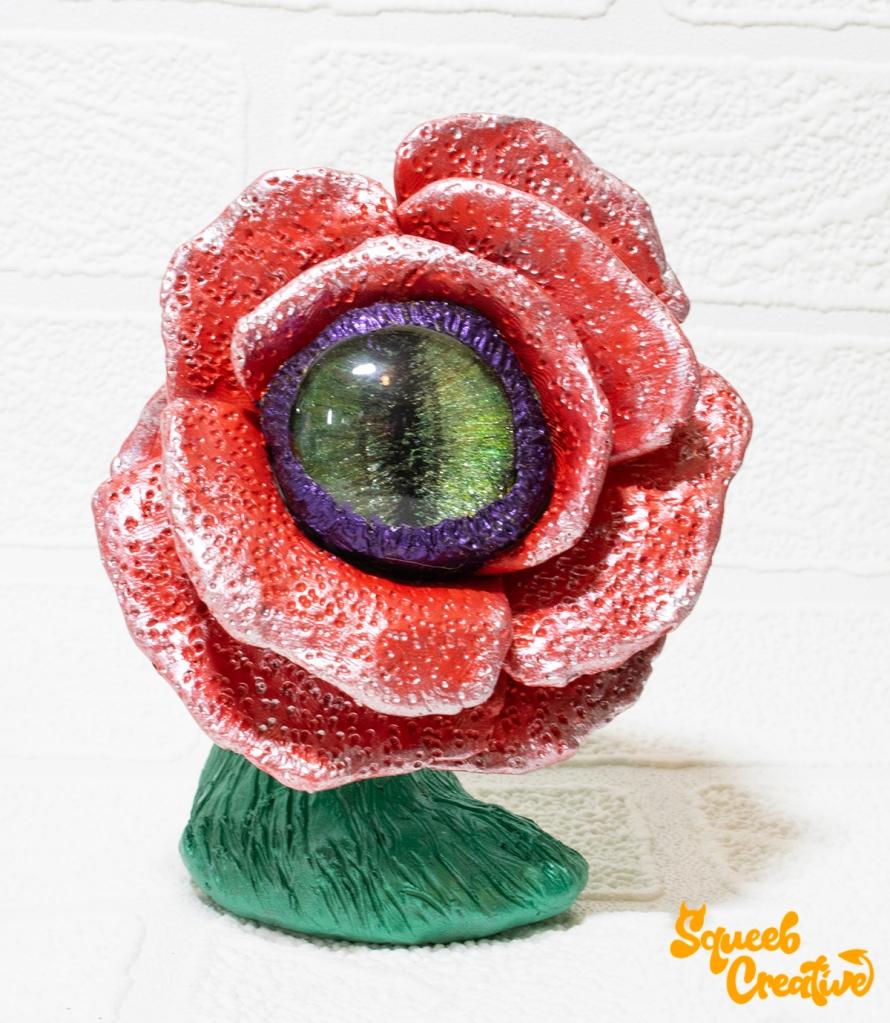 Eyeball Rose Little Shop of Horror Squeeb Creative Sculptor