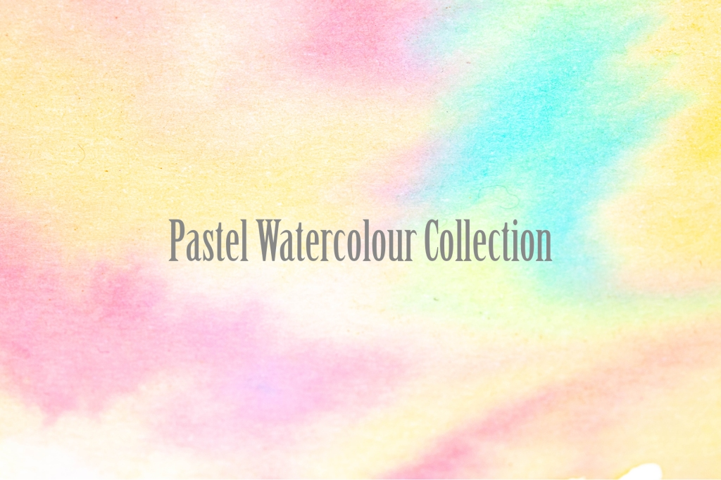 Gentle Pastel Watercolour Wash Backgrounds