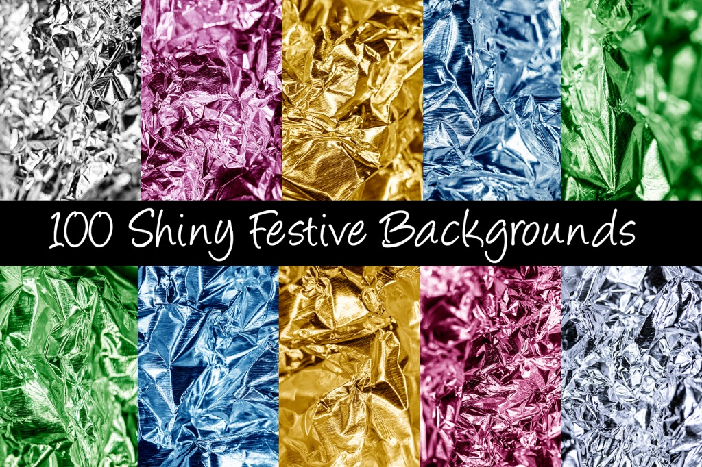 Shiny Festive Foil Backgrounds Photography Download by Squeeb Creative