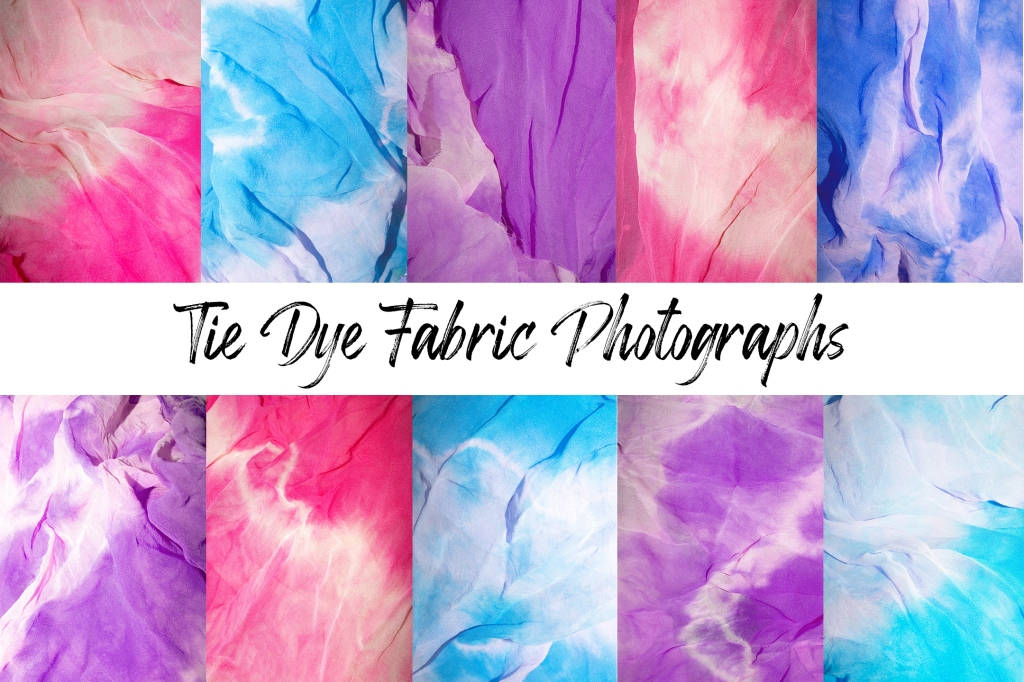 tie dye or tiedye hippy  fabric background in pink and blue download by Squeeb Creative