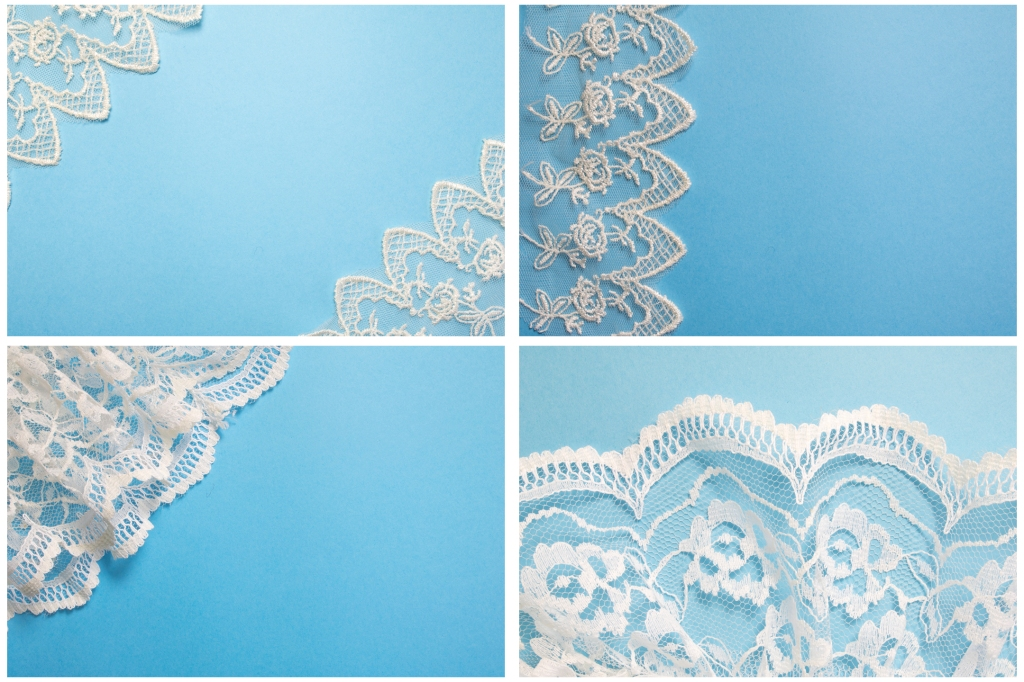 Pretty Lace Fabric Colour Background Photography Collection by Squeeb Creative